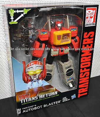Hasbro Transformers Titans Return Leader Class Figure Autobot Blaster