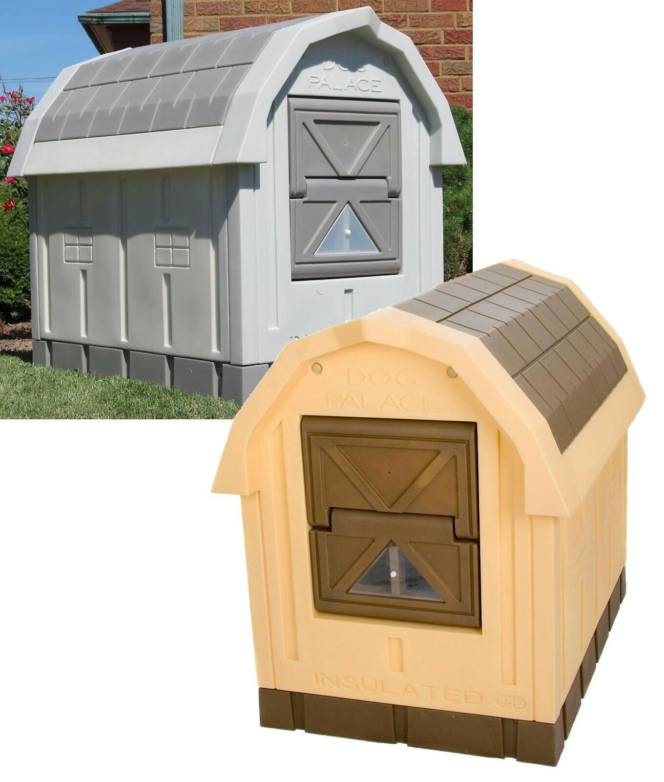 Insulated Dog House Large XL Doghouse Winter ...