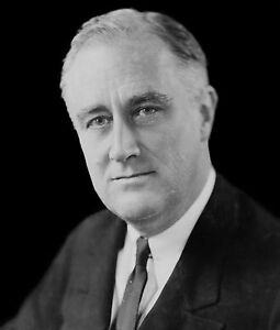 US PRESIDENT FRANKLIN D ROOSEVELT 8X10 GLOSSY PHOTO PICTURE