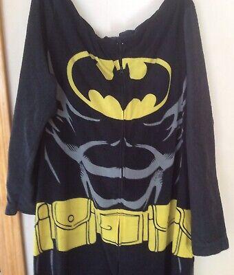 Batman Costume Pajamas Sz XL 40-42 Mens