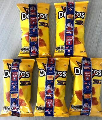 Doritos 3D queso Mexican chips Sabritas 5 BAGS, EXP DATE APRIL 2019