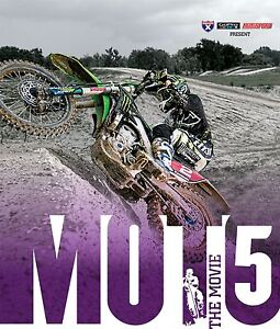 Moto 5 The Movie Motocross Dirt Bike Film DVD Video NEW 2013