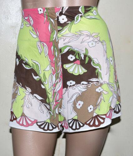 EMILIO PUCCI for Formfit Rogers  skirt shorts slip S vintage