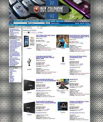 Turnkey Amazon Cellphone Affiliate Store Website Script