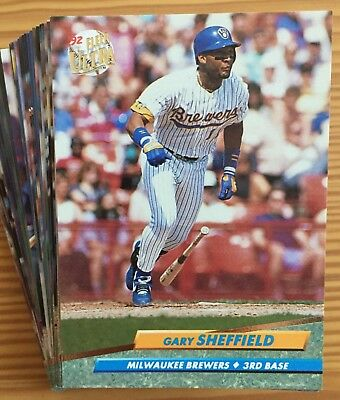 ced2e870002f 1992 Fleer Ultra Baseball You Pick 25 Cards Complete Your Set Stars Rookies  RC