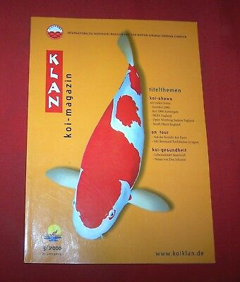 Klan Koi Magazin 2000 Nr  3 ,  8. Jahrgang , Internationales Nishikigoi Magazin