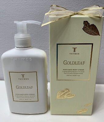 - Thymes Goldleaf Body Cream - 9.25 fl oz