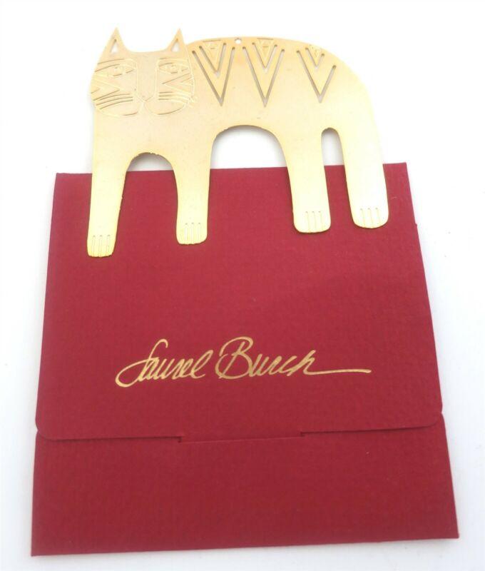 LAUREL BURCH 1991 MAGICAT GOLD PLATED CHRISTMAS ORNAMENT