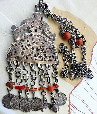 Silver necklace moroccan berber jewelry jewelry for women