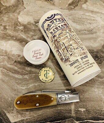 Great Eastern Cutlery Knife 152121 Sepia Saw Cut Bone-Barlow-Tidioute Knife