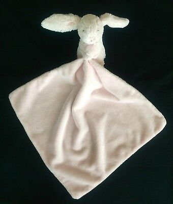 Little Jellycat Bashful Bunny Pink Security Blanket Lovey