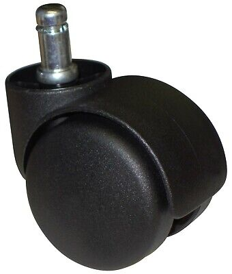 Desk Chair Casters Twin Wheel Tire Rollers Set 5 Pcs Ch-55