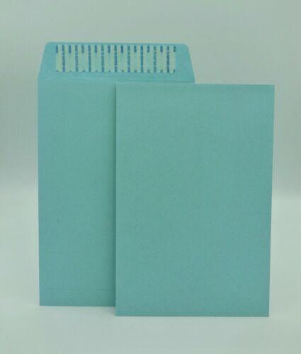 """6"""" x 9"""" Premium Catalog Envelopes, Premium 24lb. Blue, Peel & Seal, 500/Box"""