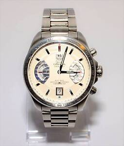 TAG Heuer GRAND CARRERA CALIBRE 17 CAV511B STAINLESS STEEL Watch Browns Plains Logan Area Preview