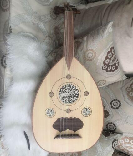 Arabic OUD Wood Handmade Walnut String Instrument UD AAO  عود شرقي