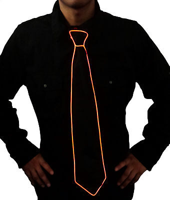 SUPER SALE! Halloween L.E.D. Glowing Neck Tie for All Ages