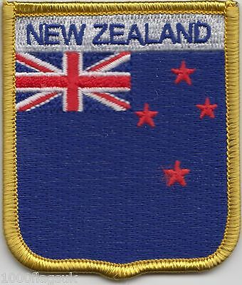 New Zealand Flag Embroidered Patch Badge LAST FEW