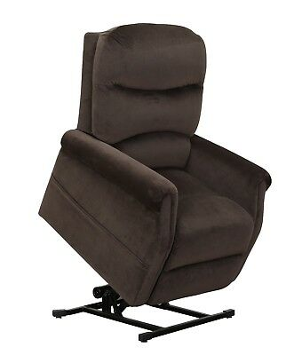 Classic Living Room Furniture Plush Power Lift Recliner Living Room Chair, Brown