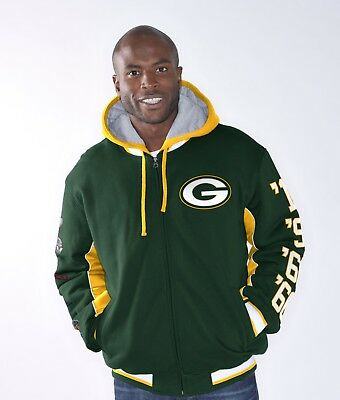 Green Bay Packers 4  Super Bowl Champs Commemorative Triumph Jacket By G-III