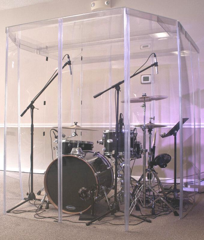 Drum Booth / Drum Cage / Drum enclosure / Drum Sheild HEARING TEST BOOTHS