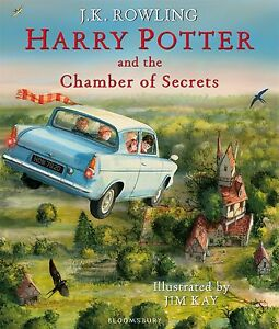 Harry Potter and the Chamber of Secrets (Harry Potter Illustrated Edition)