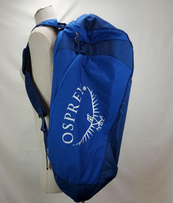 Osprey Transporter 130 Duffle Bag Back Pack BSA Boy Scouting 2017 Jamboree Blue