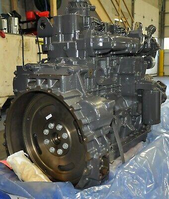 New Fpt Cnh Iveco Case Backhoe Engine 4.5 F4ge0404bd 445m2 87437201 580m