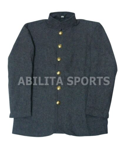 Civil War CS Grey SACK Coat