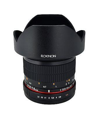 Rokinon 14mm F2.8 Super Wide Angle Lens for Canon EOS Digital SLR