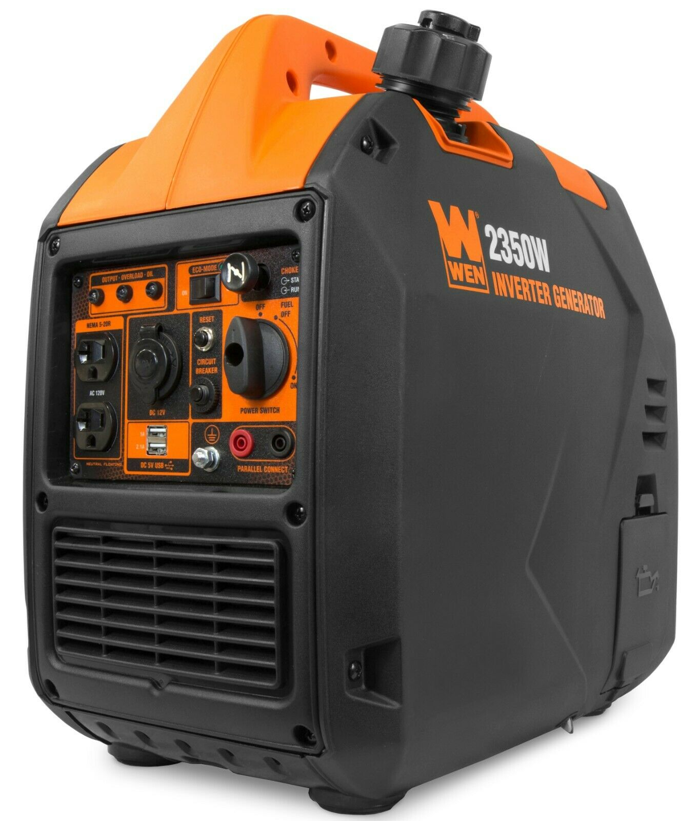 WEN 56235i Super Quiet 2350-Watt Portable Inverter ...