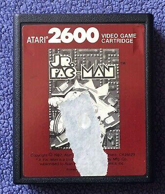 Atari 2600 - Jr. Pac-Man Junior (Red Label) - game cartridge only - tested