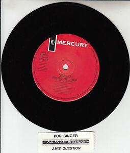 JOHN-COUGAR-MELLENCAMP-Pop-Singer-7-45-rpm-vinyl-record-juke-box-title-strip