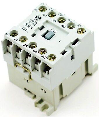 Ge Miniature Din Rail Magnetic Contactor Cr6ra40ej 48v Ac Coil Cs4-40e-48