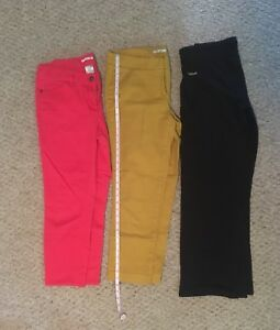 3 pairs of women's pants, size 8