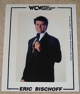 """ERIC BISCHOFF WCW PHOTO 8x10"""" WRESTLING WWF WWE TNA"""