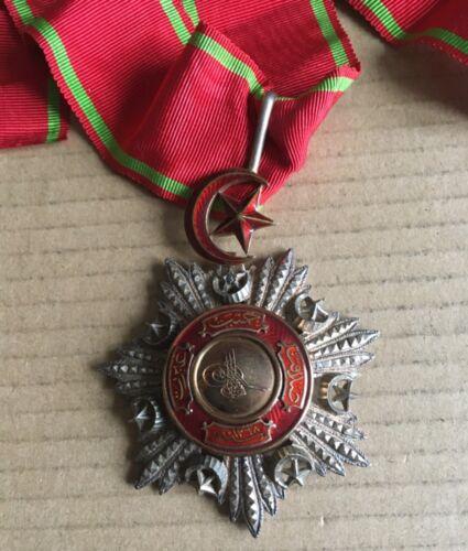Turkey Ottoman Order of Medjidie Neck Badge Medal 60 mm Gold/Silver Nichan Wisam