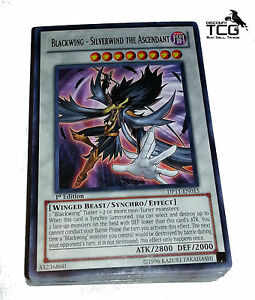 Yu-Gi-Oh! Blackwing Deck: 40 card lot +10 RARES.