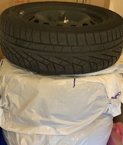 Selling Size: 205/55R16 Pirelli winter tires and winter rims