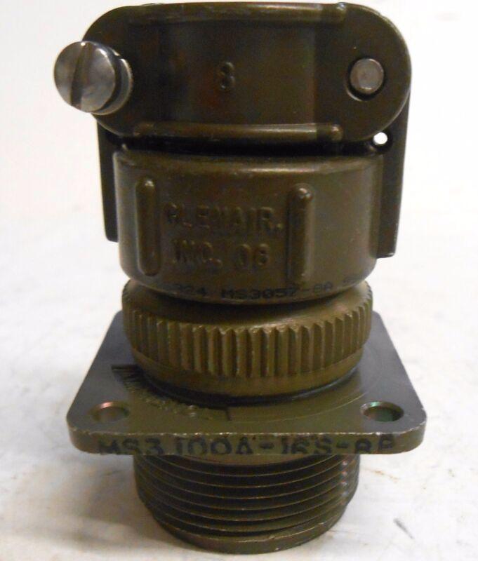 AMPHENOL CIRCULAR PIN MS3-100A-16S-8P, 5 POSITION CONNECTOR, 500VAC, 700VDC