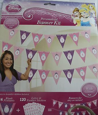 Disney Princess Baby Shower (Disney Princess Personalized Banner Kit- Disney Baby Shower- Princess)