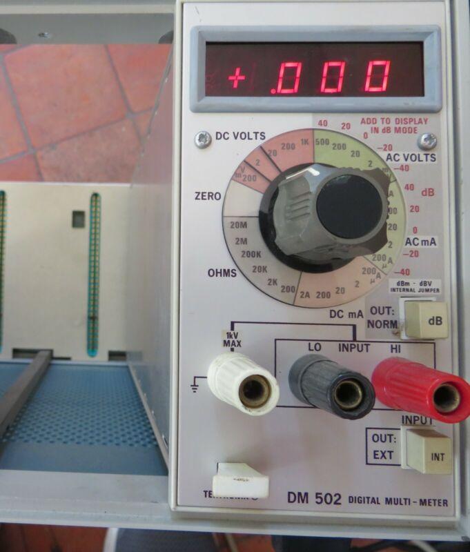Tektronix DM502 Digital Multimeter Plug In Module