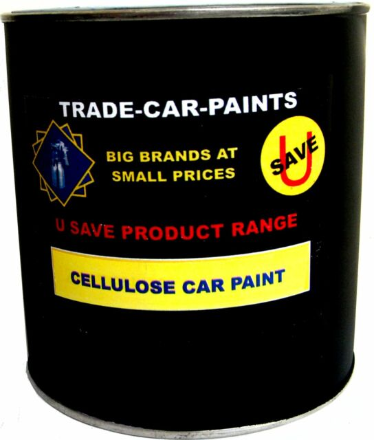 CELLULOSE CAR PAINT PURE SILVER METALLIC DIRECT GLOSS 1lt