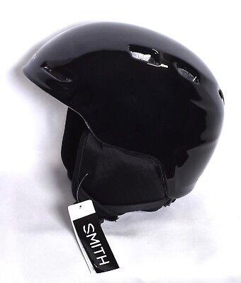 9c1977c9e11d7 SMITH Zoom JR Junior Snow Sports Helmet (Youth Size Small 48-53 cm) Black   NEW