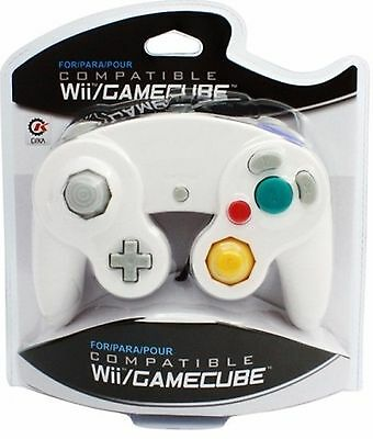 Изображение товара BRAND NEW CONTROLLER FOR THE NINTENDO GAMECUBE OR Wii (WHITE) IN BOX