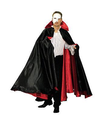 exklusives Herren CAPE Umhang Mantel z.B. zu Kostüm Dracular Vampir mittelalter