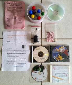 Cartridge Ink Refilling Kit and CD programs for computers