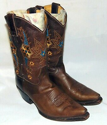 Double H Western Boots - Women Size  8.5M - Very Nice!