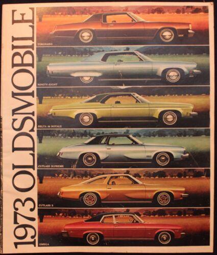 m Original Vintage 1973 Oldsmobile Brochure