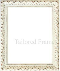 Vintage White Frame : ... Frames- Shabby Vintage white or black ornate Picture & photo Frames