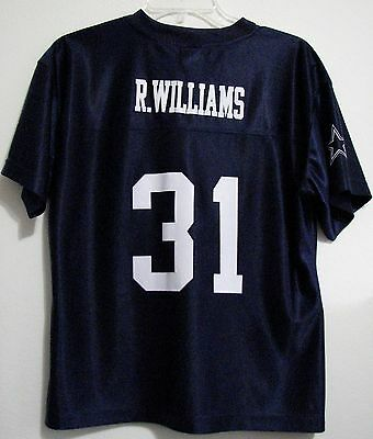 Dallas Cowboys for Her R Willams Medium Football Polyester Blue Jersey Halloween